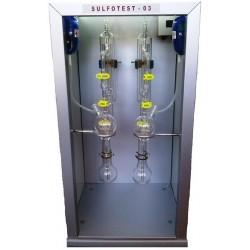 Апарат за анализ на серен диоксид по метода на Франц Паул SULFOTEST 04