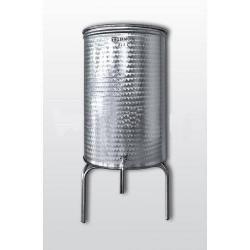 Хром-никелов съд 130 л