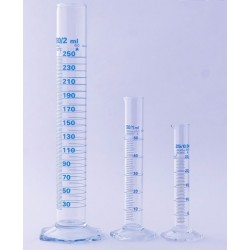 Цилиндър, 1000 мл В.Ф. стъклен