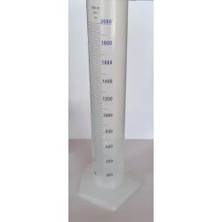 Мерителен цилиндър PP - 2000мл