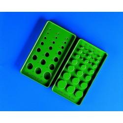 Калибрираща полимерна плоча за диаметри