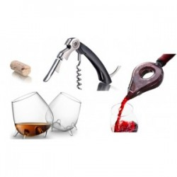 ACCESSORIES FOR SERVING AND STORING WINE